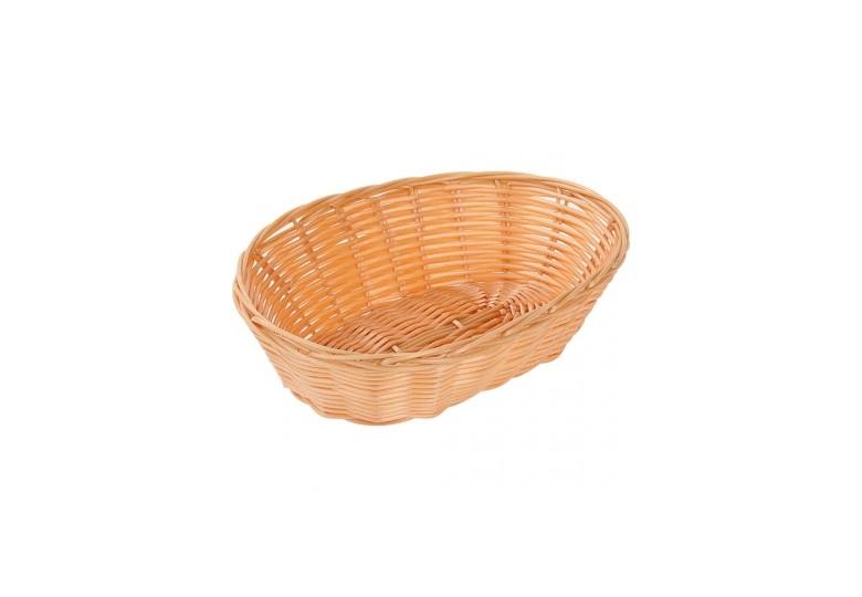 Bread basket polypropylene oval 23x15x6,5 cm