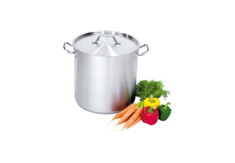 Satin high stockpot with lid d 16 cm, 2,5 l