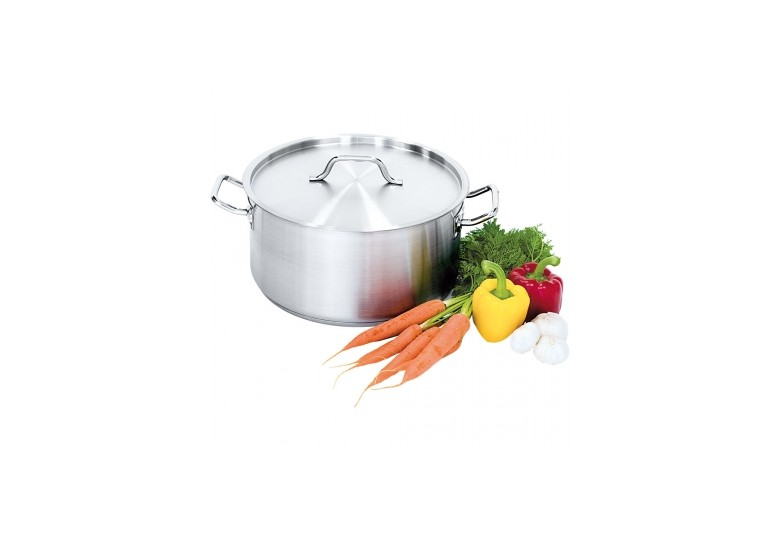 Satin saucepot with lid d 20 cm, 3,3 l