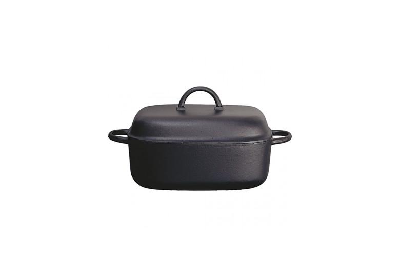 Cast iron frypan d 28 cm