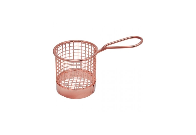 Finger food basket round
