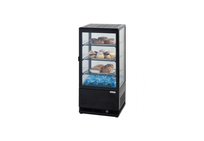 Сhilled display cabinet 78 l black