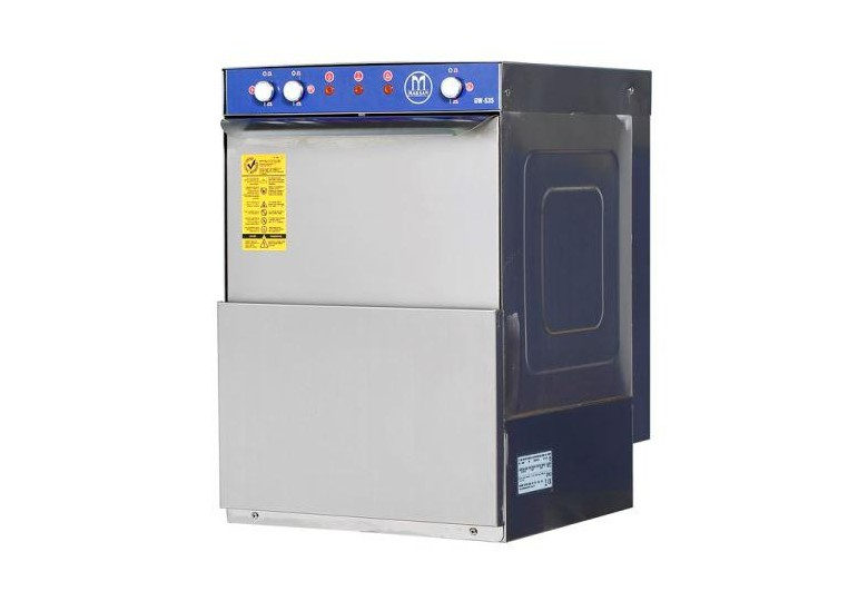 Glasswasher GW-535 MAKSAN (500 glasses / hour washing capacity)