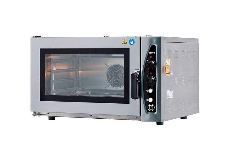 Конвекционная пекарская печь (электрическая, сенсорная панель) MKF-4 P DT, GN 600 x 400 x 4, MAKSAN