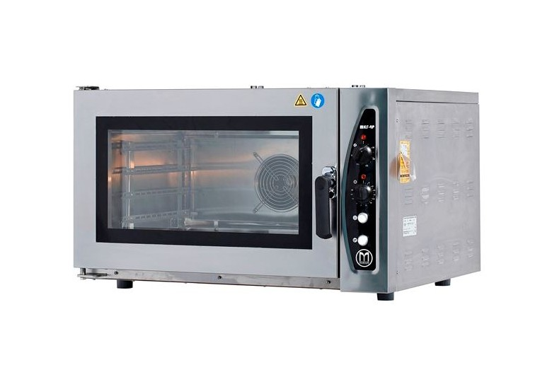 Convection bakery oven (electric, digital panel) MKF-4 P DT, GN 600 x 400 x 4, MAKSAN