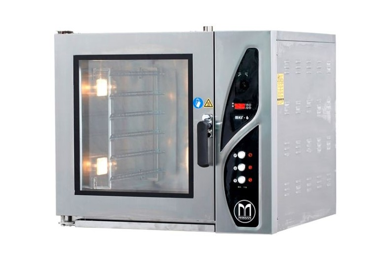 Convection bakery oven (electric, manual panel) MKF 3, GN 2/3 x 3, MAKSAN