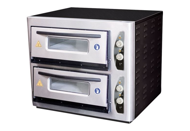 Single deck pizza oven (4 х Ø25 сm) PO-401 MAKSAN