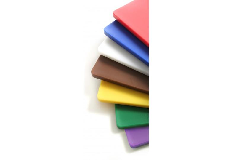 Cutting board HACCP GN 1/2, 265 x 325 mm (white) HENDI 826102