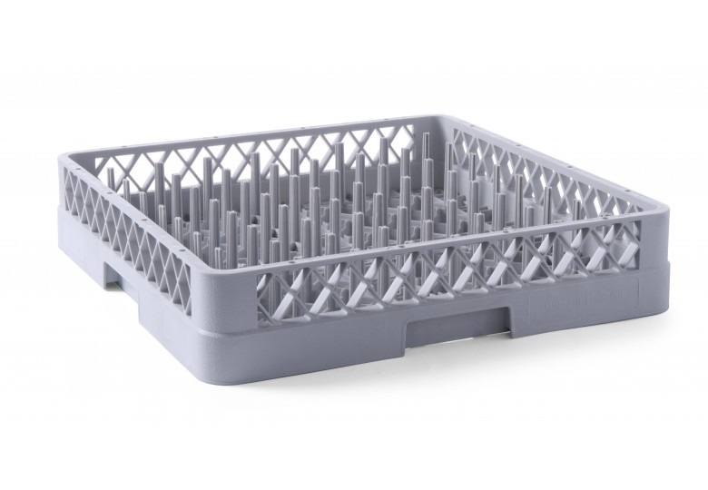 Dishwasher basket for plates 500 x 500 x100 mm HENDI 877104