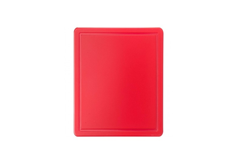 Cutting board GN 1/2 red