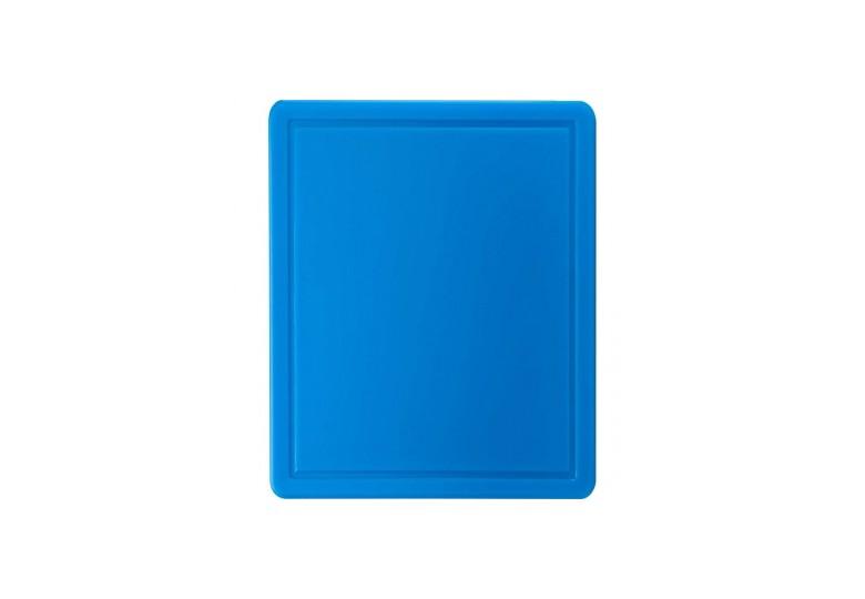 Пластиковая доска 1/2 синяя