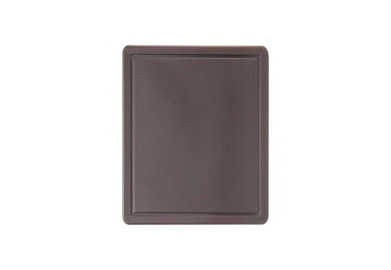 Пластиковая доска GN 1/2 коричневая