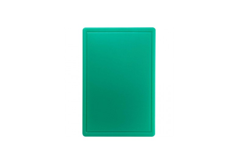 Сutting board 600x400x18 mm green