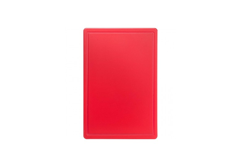 Сutting board 600x400x18 mm red