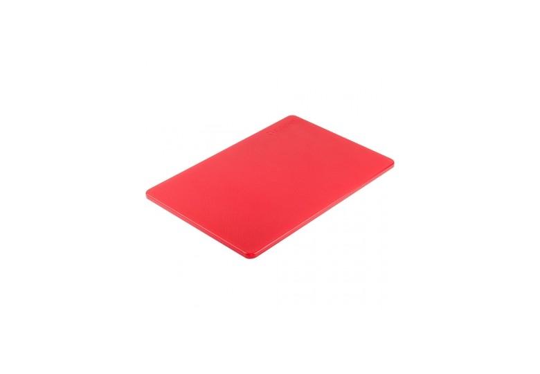 Пластиковая доска 45*30 см. красная
