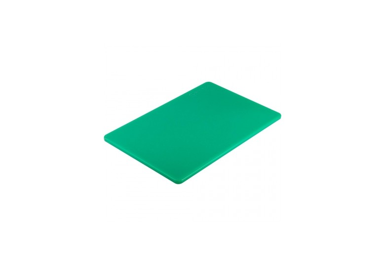 Green polyethylen cutting board 45x30 cm