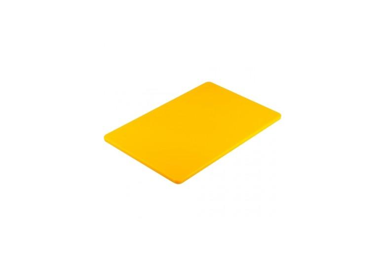Пластиковая доска 45*30 см. желтая