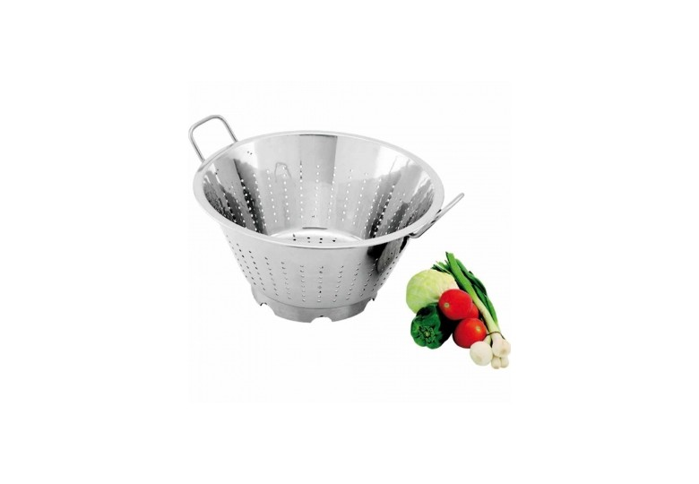 Сonical colander with handles d 32 cm