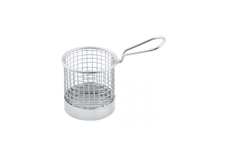 Finger food basket round