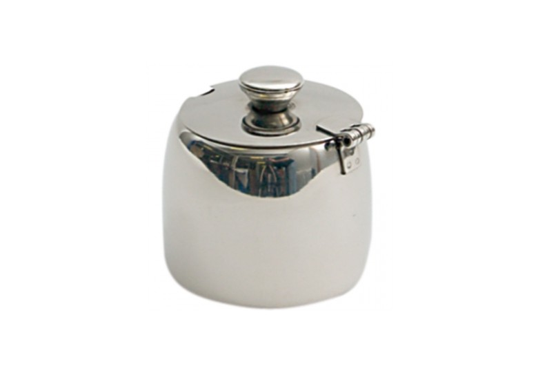 Stainless steel sugar bowl 0,3 l